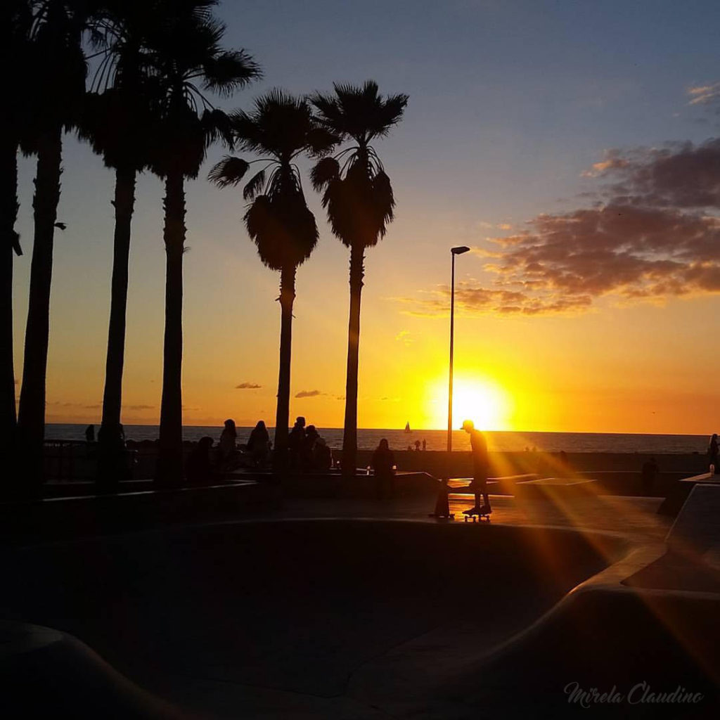 Sunset em Venice, Los Angeles